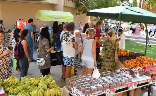 שוק איכרים אילות מרקט (צילום: ליטל שמואלי)