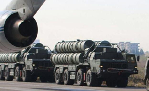 מערכת טילים S400 של רוסיה