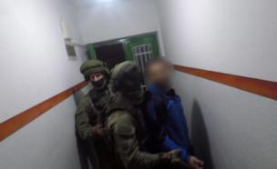 מעצר פעילי דאעש (צילום: דוברות המשטרה)