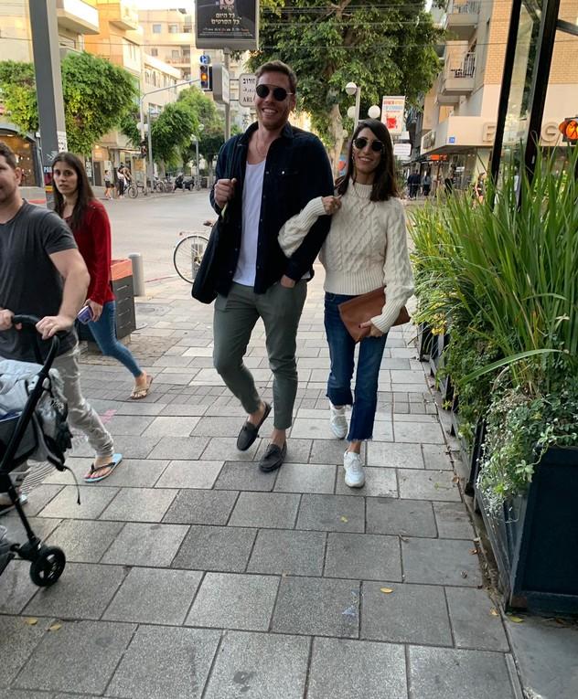 שרונה מרלין והחבר עדיין ביחד ומאוהבים, דצמבר 2019