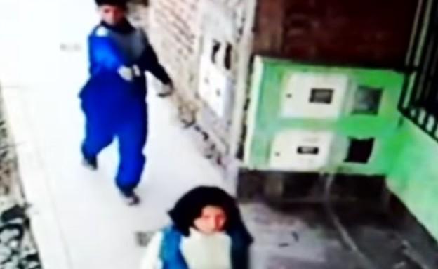 נסיון רצח בפרו (צילום: צילום מסך youtube)