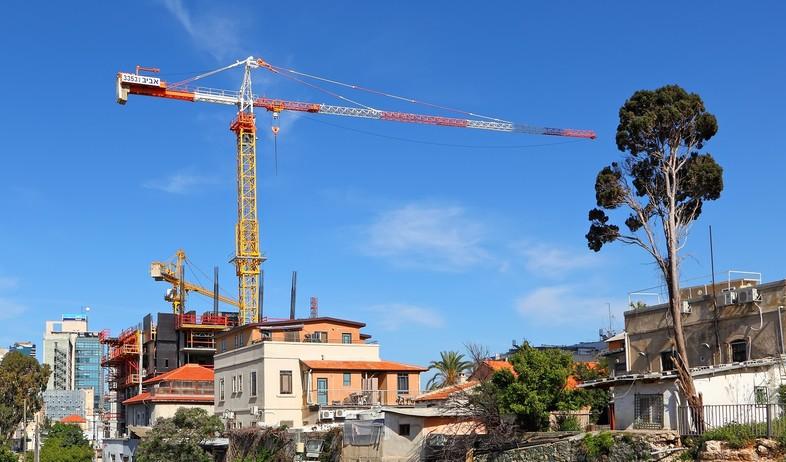 אתר בנייה (צילום: Protasov AN, shutterstock)