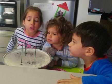 שלושה ילדים בארבע שנים (צילום: לילי שרצקי אלמליח, אלבום פרטי)