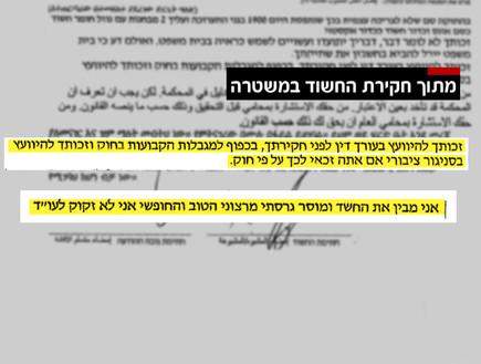 השוטרים רמסו את זכויות הנאשם, כתב האישום בוטל