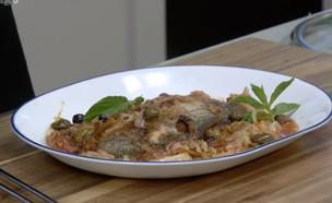 דג בנוסח מלטה (וידאו AVI: מבשלים עם קשת - רותי רוסו)
