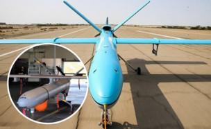 כלי הטיס והמקביל הדומה (צילום: mehrnews)