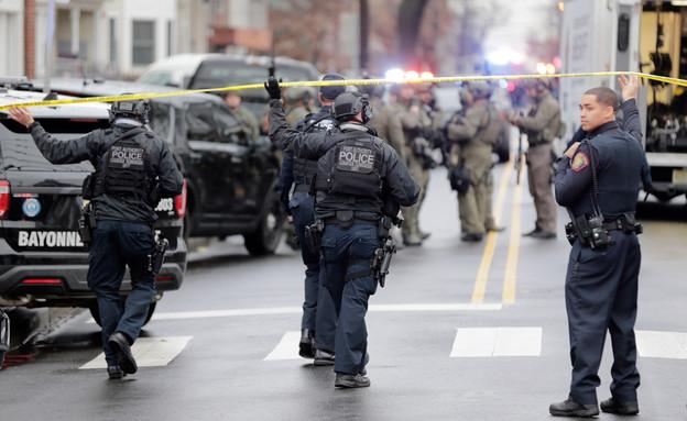 ירי בניו ג'רזי  (צילום: AP)