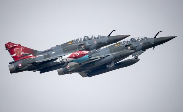 מטוסי קרב מיראז' (צילום: Matt Cardy/Getty Images)