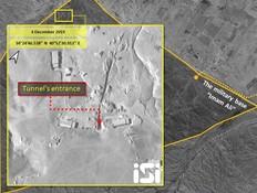 הלוויין חושף: המנהרה הסודית שחופרת איראן