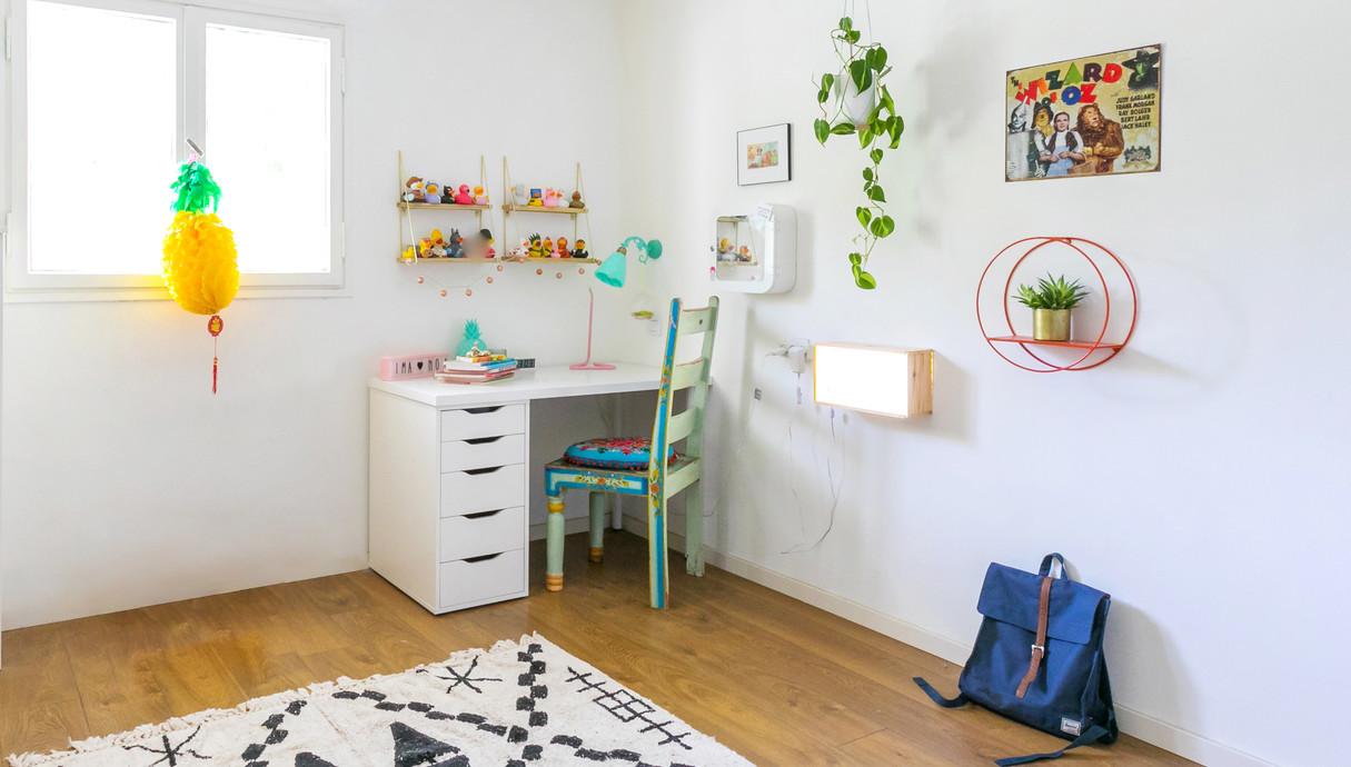 דירה בצפון תל אביב, עיצוב דיקלה מנחם טבת, חדרה של הבת