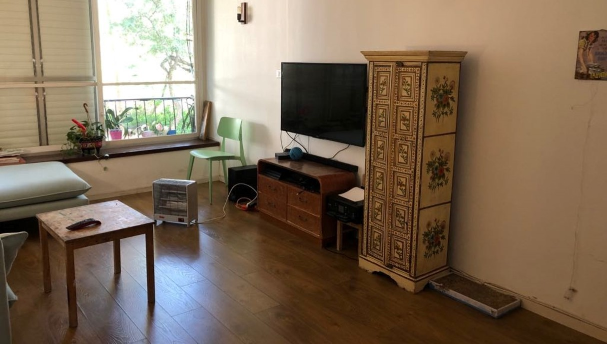 דירה בצפון תל אביב, עיצוב דיקלה מנחם טבת,לפני