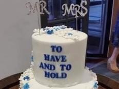 מביך: עוגת החתונה שהפכה לוויראלית בכל העולם