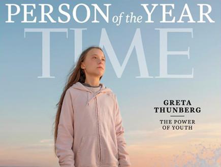 גרטה תונברג, אשת השנה של מגזין טיים 2019