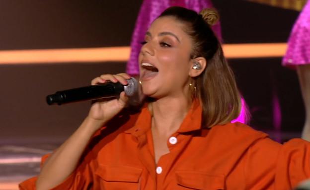 """שירי מימון - """"גברת פלפלת"""" (צילום: מתוך """"הכוכב הבא לאירוויזיון 2020"""", קשת 12)"""
