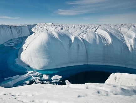 גרינלנד מאבדת קרח