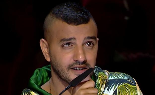 איתי לוי (צילום: מתוך: הכוכב הבא לאירוויזיון 2020, קשת 12)