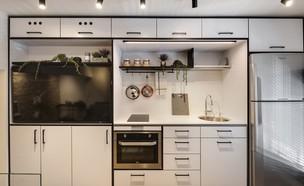 מטבחים קטנים1, עיצוב ניצן הורוביץ (צילום: עודד סמדר)