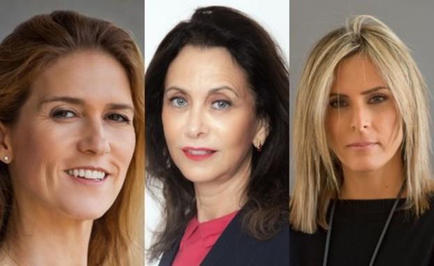 נשים מצליחות וחזקות (צילום: מירה דוידוביץ׳, ליאת למבוזו,  יורם אשהיים)