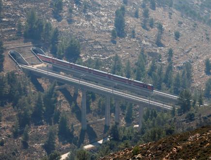 רכבת ירושלים תל אביב (צילום: reuters)