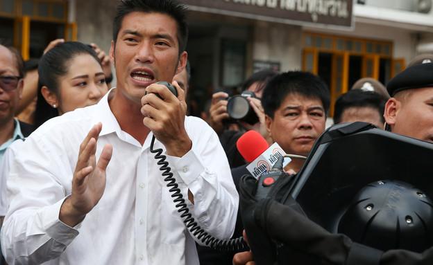 מנהיג האופוזיציה בתאילנד תנאתורן ג'ואנגרונגרואנגקיט (צילום: רויטרס)
