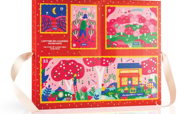 גםאנירוצה,דצמבר, לאוקסיטן קלינדר מארז 24 מתנות מחיר 249 שח (צילום: יחצ חול)