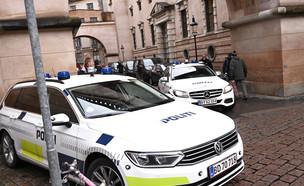 פשיטה בדנמרק ללכידת פעילי טרור (צילום: ap)