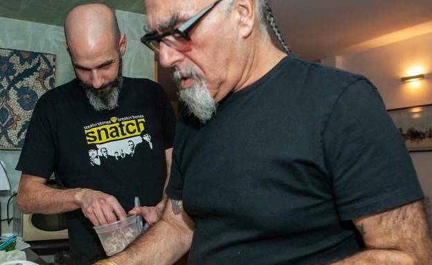 ענבר גפני ושף ישראל אהרוני  (צילום: שי נייבורג, יחסי ציבור)