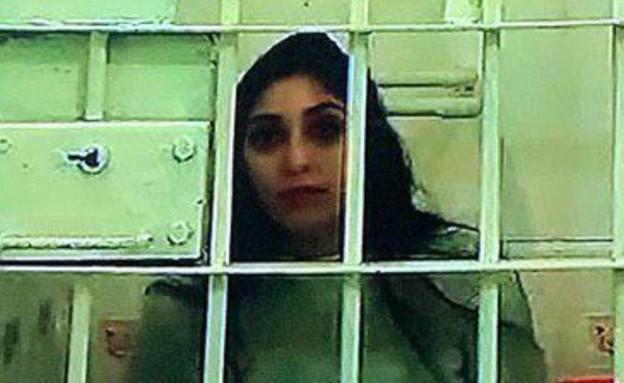 נעמה יששכר שמרצה מאסר ברוסיה (צילום: החדשות12)