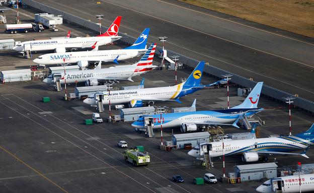 מטוסי בואינג 737 מקס (צילום: רויטרס)