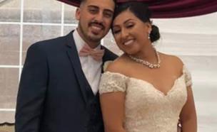 חתונה נגמרה בטרגדיה (צילום: פייסבוק\Esther Bustamante Melgoza)