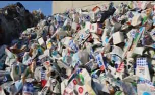 כמה פסולת אנחנו מייצרים (צילום: חי בלילה, קשת 12)