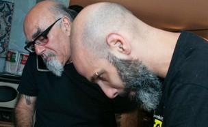 ענבר גפני וישראל אהרוני  (צילום: שי נייבורג, יחסי ציבור)