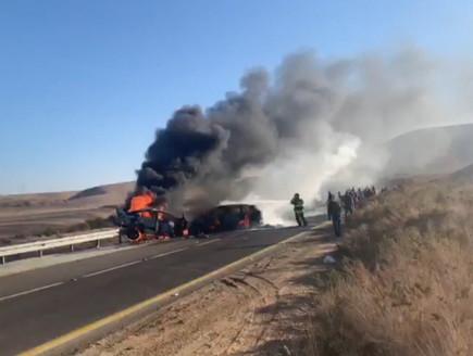 תאונה קטלנית בכביש 40