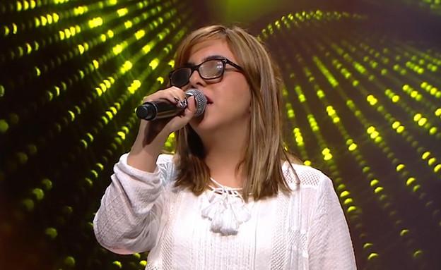 """שיר ערגי - """"ירושלים של זהב""""  (צילום: מתוך """"הכוכב הבא לאירוויזיון 2020"""", קשת 12)"""