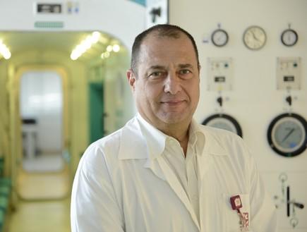 """ד""""ר רם זק (צילום: נתנאל אייזיק דוברות רמב""""ם)"""