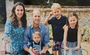 הנסיך וויליאם, קייט מידלטון (צילום: twitter / Benjamin wareing)