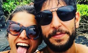 עידן עמדי ואשתו (צילום: מתוך האינסטגרם של עידן עמדי, מתוך instagram)