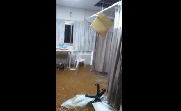 הצפה בבית החולים לניאדו