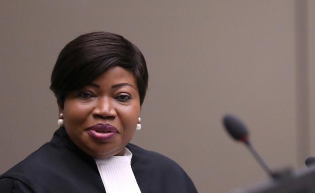 פאטי בנסודה, תובעת בבית הדין הבינלאומי הפלילי בהאג (צילום: Eva Plevier, רויטרס)