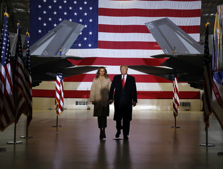הנשיא והגברת הראשונה, מלאניה טראמפ
