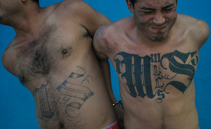 MS-13 (צילום: MARVIN RECINOS/AFP via Getty Images)
