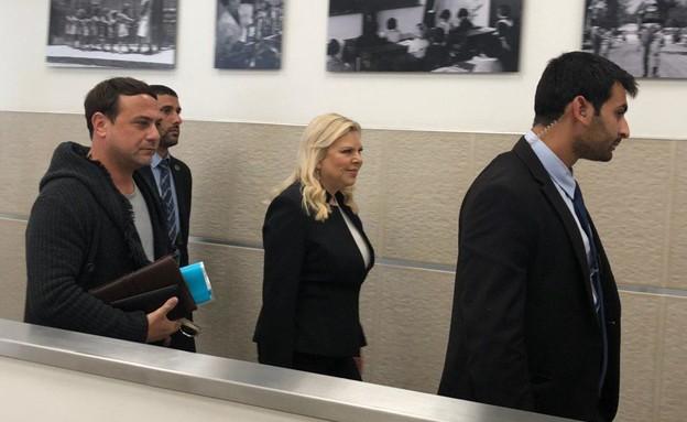 שרה נתניהו מגיעה לדיון בתביעתה של שירה רבן