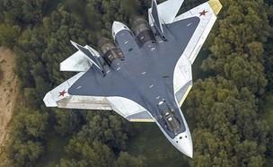 מטוס החמקן הרוסי Su-57 (צילום: משרד ההגנה הרוסי)
