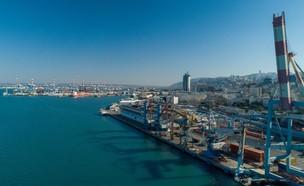 נמל חיפה (צילום: נמרוד קרן)