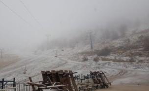 שלג ראשון בחרמון