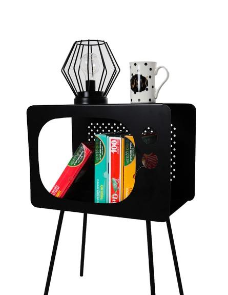 גםאנירוצה, דצמבר,שידה בצורת טלויזיה גמבו סטווק מחיר 200 ח צבע שחור (צילום: יחצ)