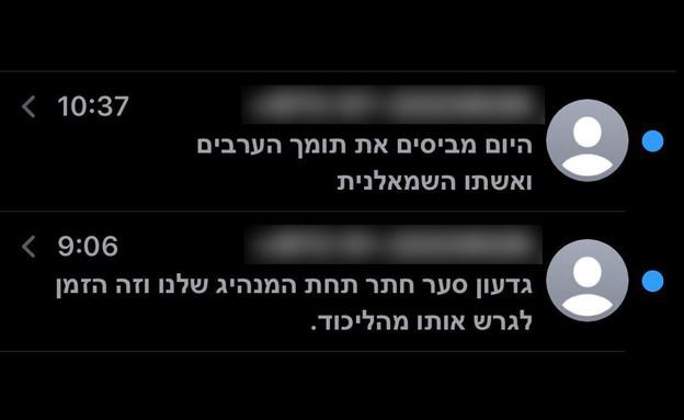 הודעות למתפקדי הליכוד (צילום:  none)