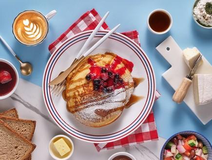 ארוחות בוקר סובבות עולם בפרש דה מרקט