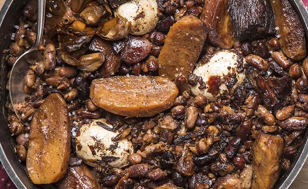 חמין (צילום: אפיק גבאי, אוכל טוב)