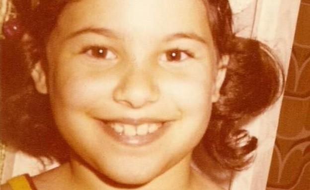 שרון בר-אל תמיר בילדותה (צילום: צילום ביתי)